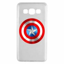 Чехол для Samsung A3 2015 Captain America 3D Shield