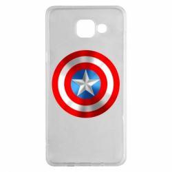 Чехол для Samsung A5 2016 Captain America 3D Shield