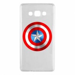 Чехол для Samsung A7 2015 Captain America 3D Shield