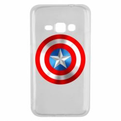 Чехол для Samsung J1 2016 Captain America 3D Shield