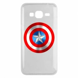 Чехол для Samsung J3 2016 Captain America 3D Shield