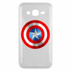 Чехол для Samsung J5 2015 Captain America 3D Shield
