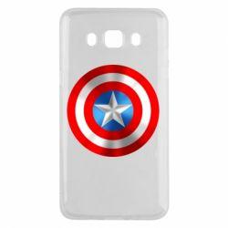 Чехол для Samsung J5 2016 Captain America 3D Shield