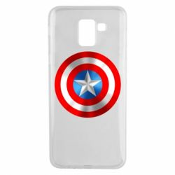 Чехол для Samsung J6 Captain America 3D Shield