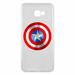Чехол для Samsung J4 Plus 2018 Captain America 3D Shield