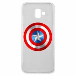 Чехол для Samsung J6 Plus 2018 Captain America 3D Shield