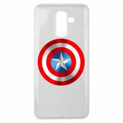 Чехол для Samsung J8 2018 Captain America 3D Shield