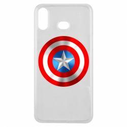 Чехол для Samsung A6s Captain America 3D Shield