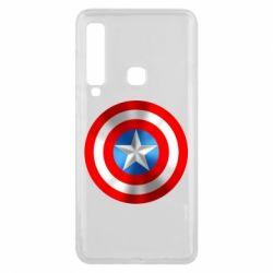 Чехол для Samsung A9 2018 Captain America 3D Shield