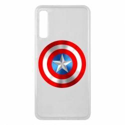 Чехол для Samsung A7 2018 Captain America 3D Shield