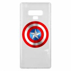 Чехол для Samsung Note 9 Captain America 3D Shield