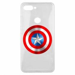 Чехол для Xiaomi Mi8 Lite Captain America 3D Shield