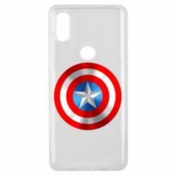 Чехол для Xiaomi Mi Mix 3 Captain America 3D Shield