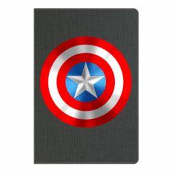 Блокнот А5 Captain America 3D Shield