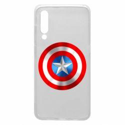 Чехол для Xiaomi Mi9 Captain America 3D Shield