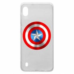 Чехол для Samsung A10 Captain America 3D Shield