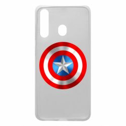 Чехол для Samsung A60 Captain America 3D Shield