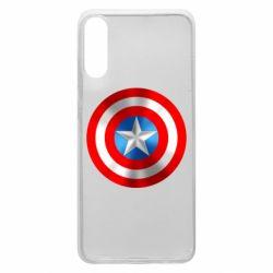 Чехол для Samsung A70 Captain America 3D Shield