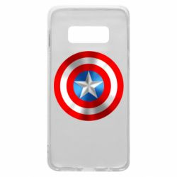 Чехол для Samsung S10e Captain America 3D Shield