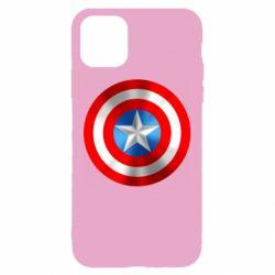 Чехол для iPhone 11 Captain America 3D Shield