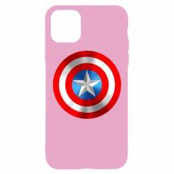 Чехол для iPhone 11 Pro Max Captain America 3D Shield
