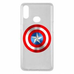 Чехол для Samsung A10s Captain America 3D Shield