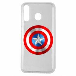 Чехол для Samsung M30 Captain America 3D Shield