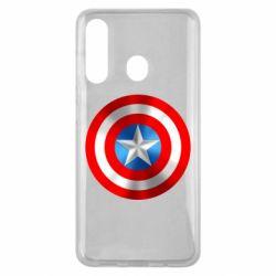 Чехол для Samsung M40 Captain America 3D Shield