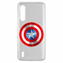 Чехол для Xiaomi Mi9 Lite Captain America 3D Shield