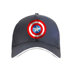 Кепка Captain America 3D Shield - FatLine