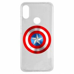 Чехол для Xiaomi Redmi Note 7 Captain America 3D Shield