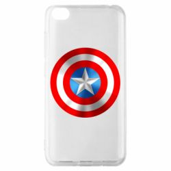Чехол для Xiaomi Redmi Go Captain America 3D Shield