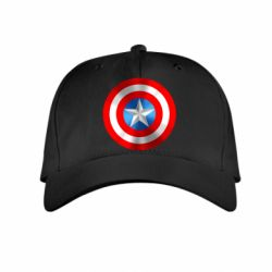 Детская кепка Captain America 3D Shield - FatLine