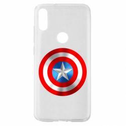 Чехол для Xiaomi Mi Play Captain America 3D Shield