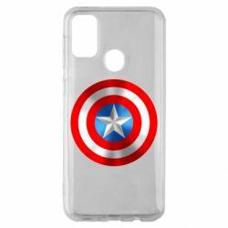 Чехол для Samsung M30s Captain America 3D Shield