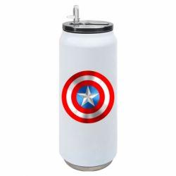 Термобанка 500ml Captain America 3D Shield