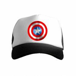 Детская кепка-тракер Captain America 3D Shield