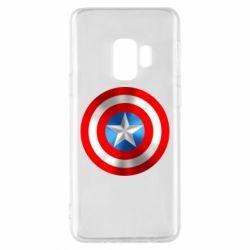 Чехол для Samsung S9 Captain America 3D Shield