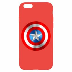 Чехол для iPhone 6/6S Captain America 3D Shield
