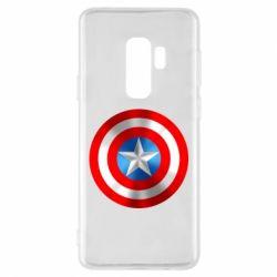 Чехол для Samsung S9+ Captain America 3D Shield