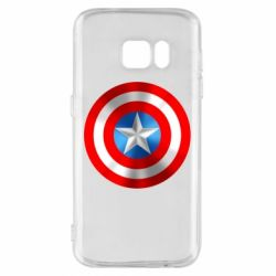Чехол для Samsung S7 Captain America 3D Shield