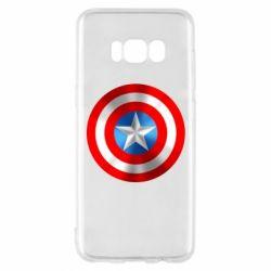 Чехол для Samsung S8 Captain America 3D Shield