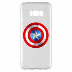 Чехол для Samsung S8+ Captain America 3D Shield