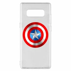 Чехол для Samsung Note 8 Captain America 3D Shield