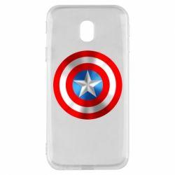 Чехол для Samsung J3 2017 Captain America 3D Shield