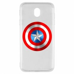 Чехол для Samsung J7 2017 Captain America 3D Shield