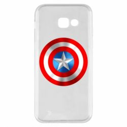 Чехол для Samsung A5 2017 Captain America 3D Shield