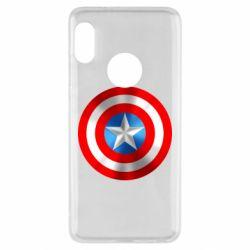 Чехол для Xiaomi Redmi Note 5 Captain America 3D Shield