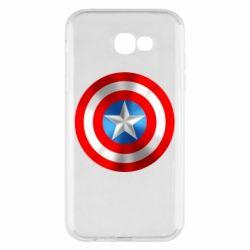 Чехол для Samsung A7 2017 Captain America 3D Shield