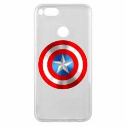Чехол для Xiaomi Mi A1 Captain America 3D Shield